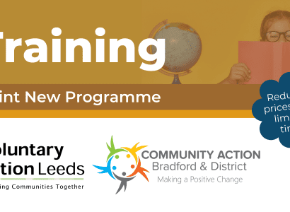 Voluntary Action Leeds & Community Action Bradford Launch Joint Training Programme