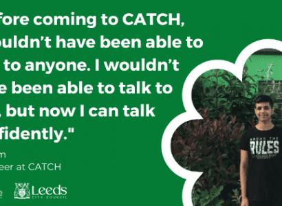 Volunteer Stories: CATCHing up with volunteers Faheem and Zain