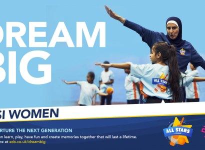 ECB Cricket Volunteers Wanted  – Dream Big Desi Women