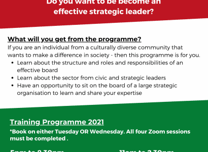 VAL Launch New Training Programme- 'Being an Effective Strategic Leader'