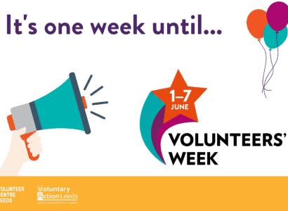 Volunteer Week next week 1-7 June