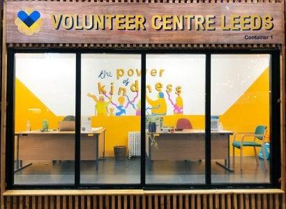 The Volunteer Centre in Leeds Kirkgate Market is now open